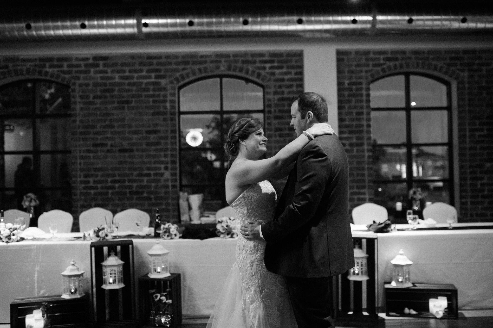 Brock Street Brewing Co. Wedding - first dance