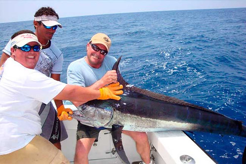 29 Ft Marlin Rayado 3/4 day (6 hours)