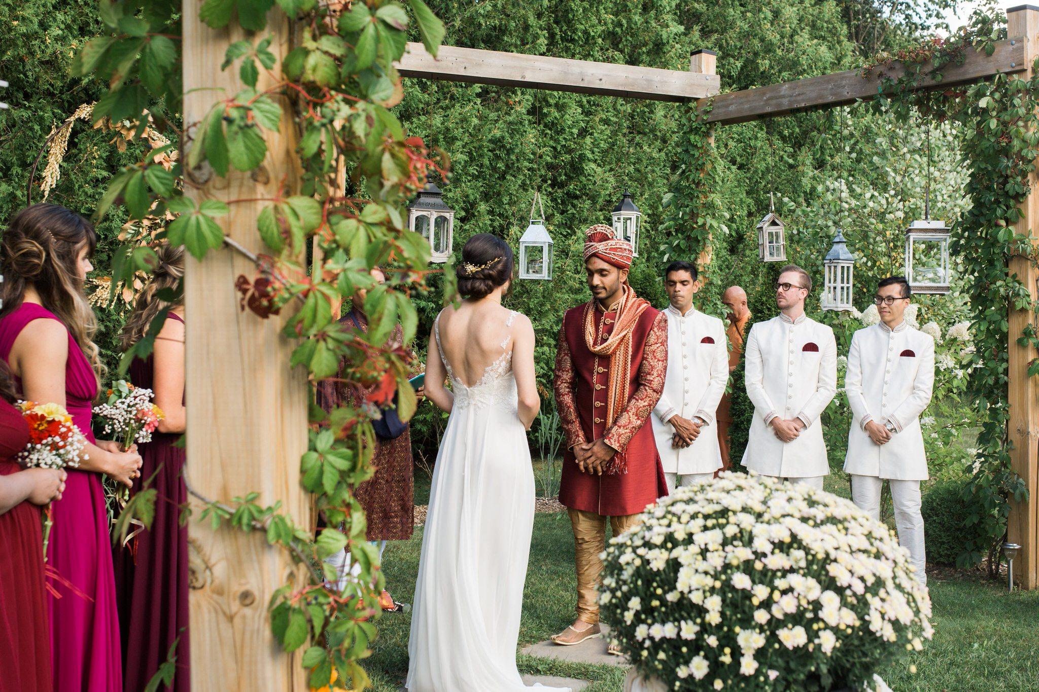 Northview Gardens Wedding - mixed hindu wedding ceremony
