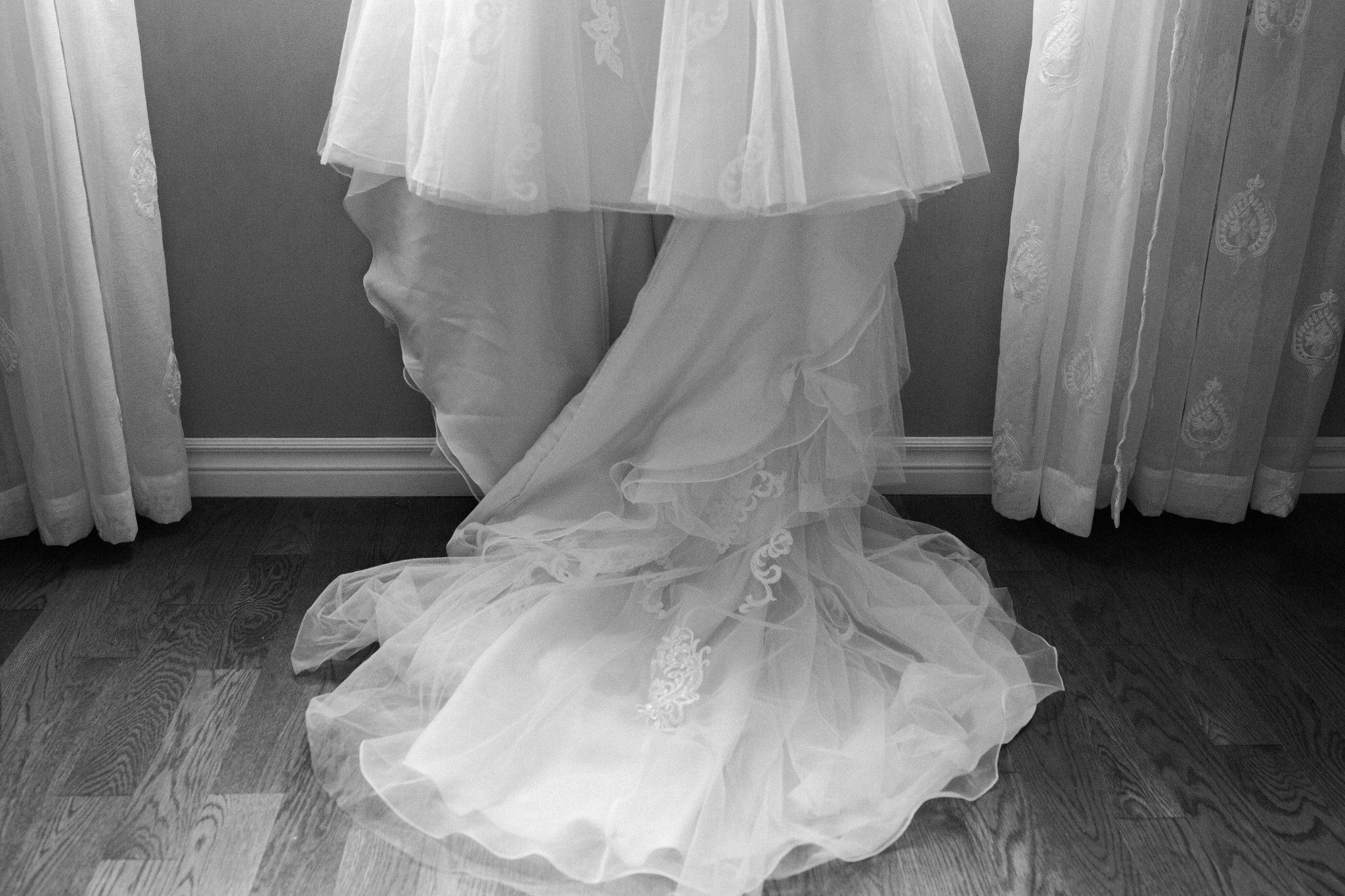 Brock Street Brewing Co. Wedding - the dress