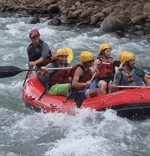 White Water Rafthing
