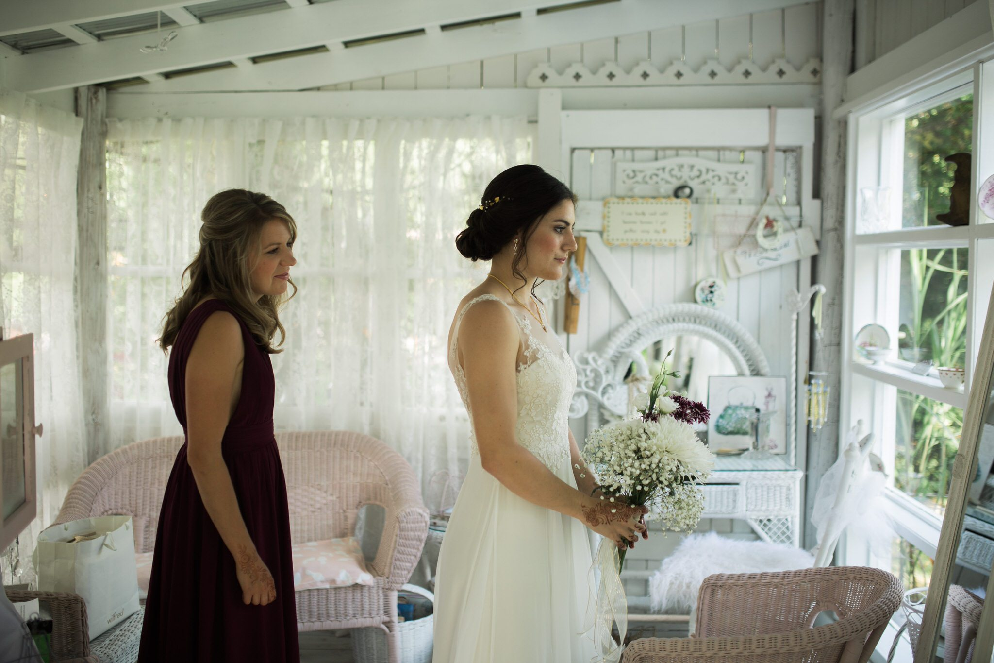 Northview Gardens Wedding - brides reveal