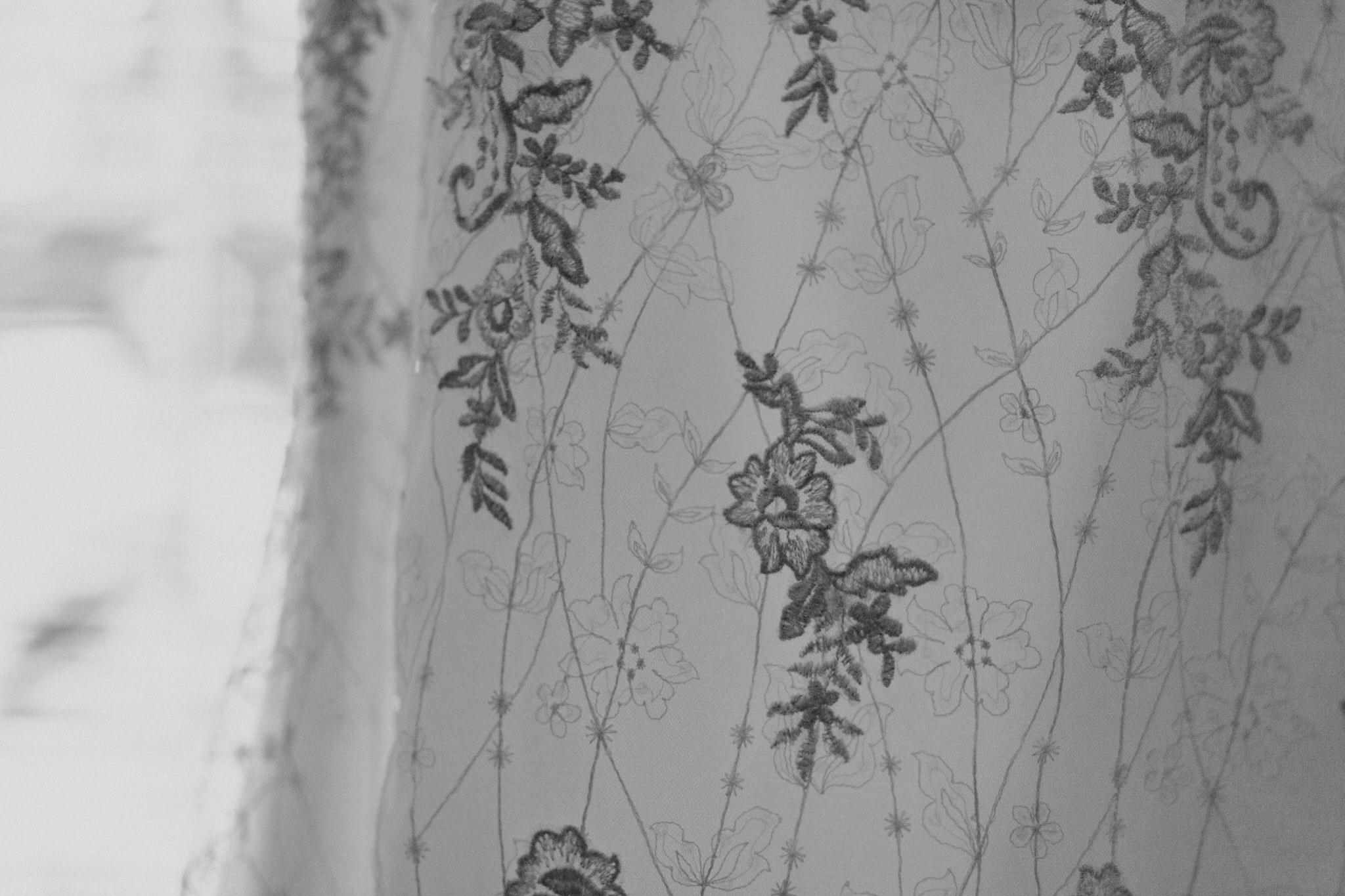 Whitby Wedding Photographer Carol Poitras - Dress details