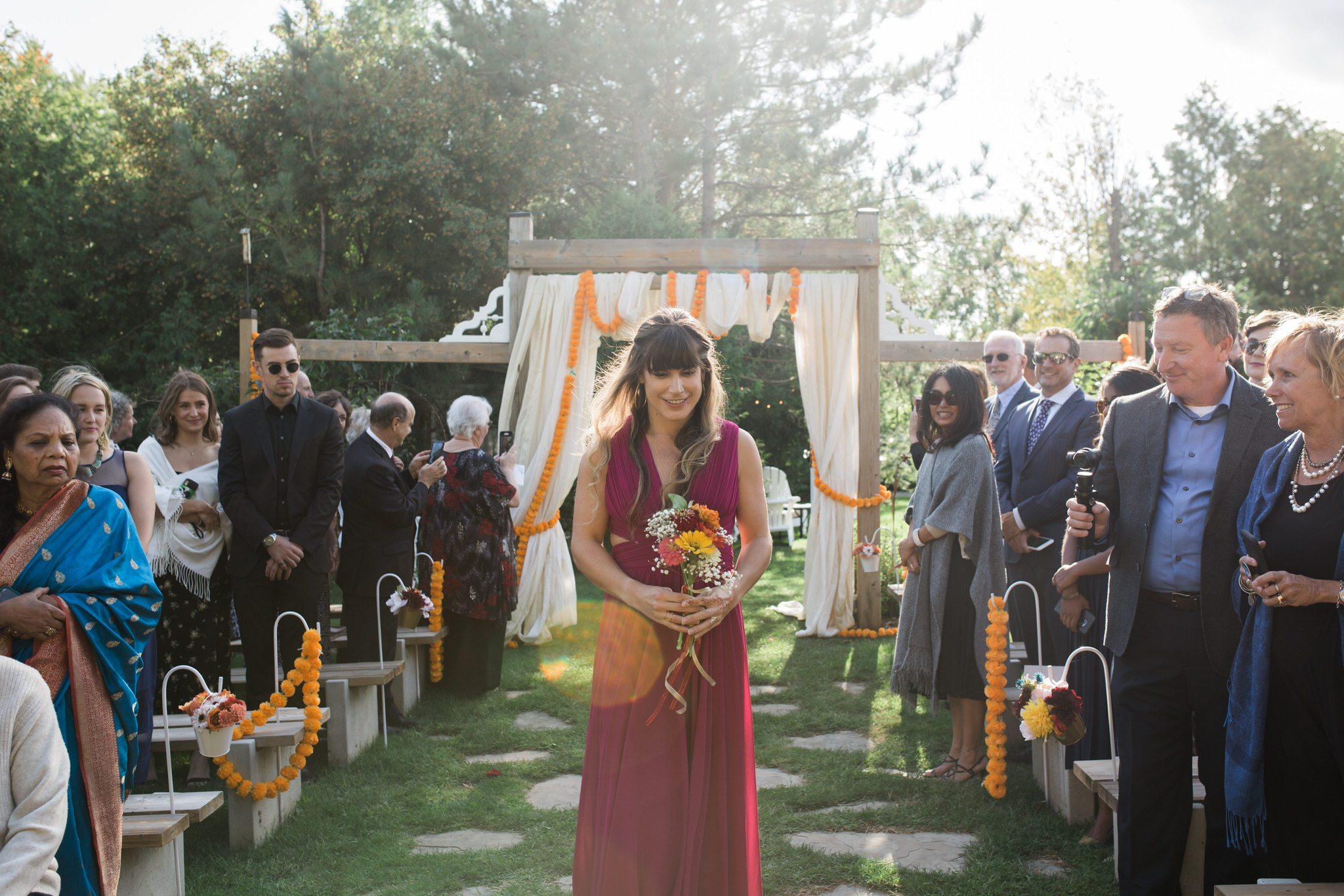 Northview Gardens Wedding - bridesmaid