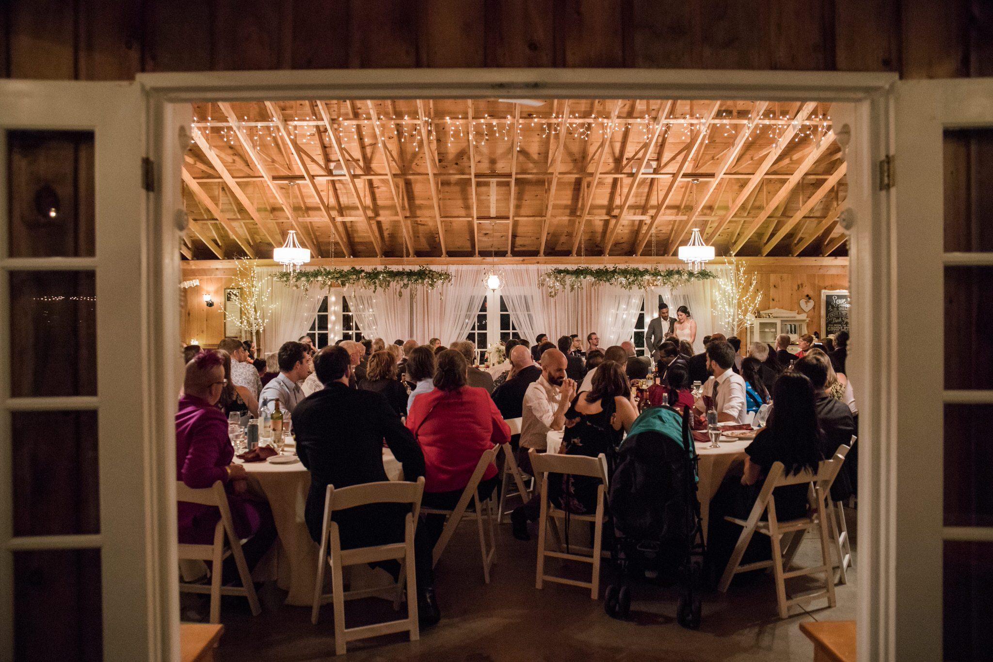 Northview Gardens Wedding - reception dinner