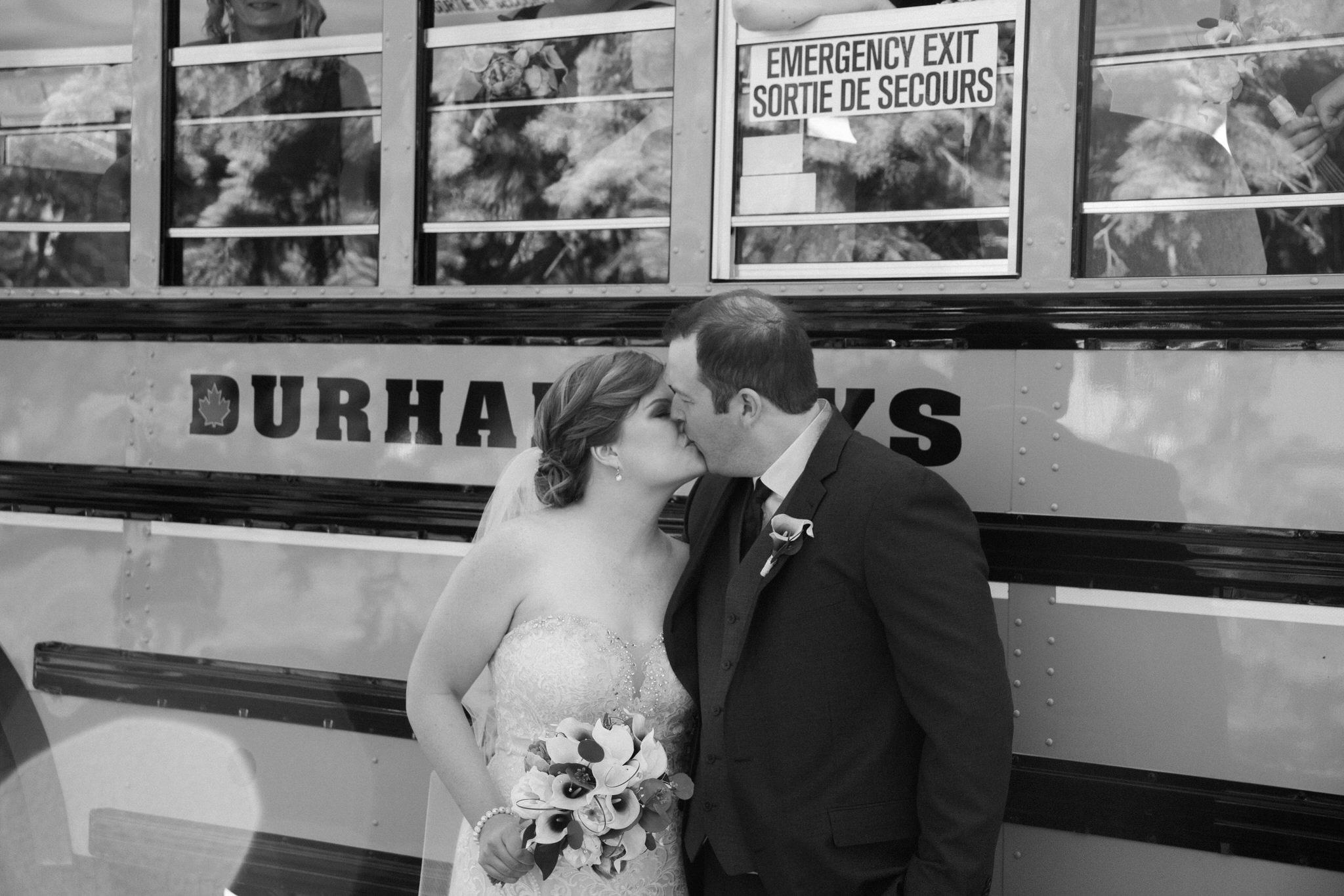 Brock Street Brewing Co. Wedding - teachers getting married