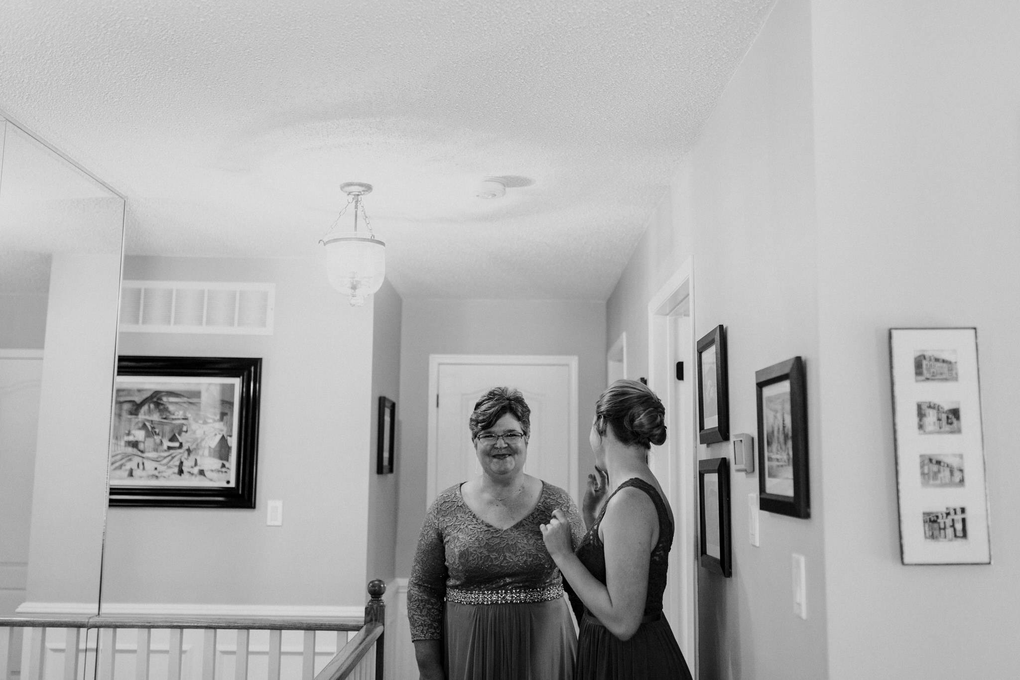 Whitby Wedding Photographer Carol Poitras - mother of the bride