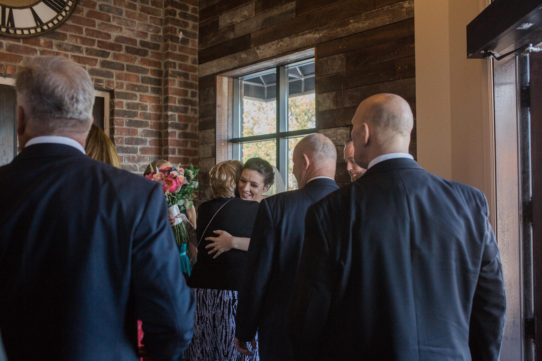 Brock Street Brewery Wedding - congratulations