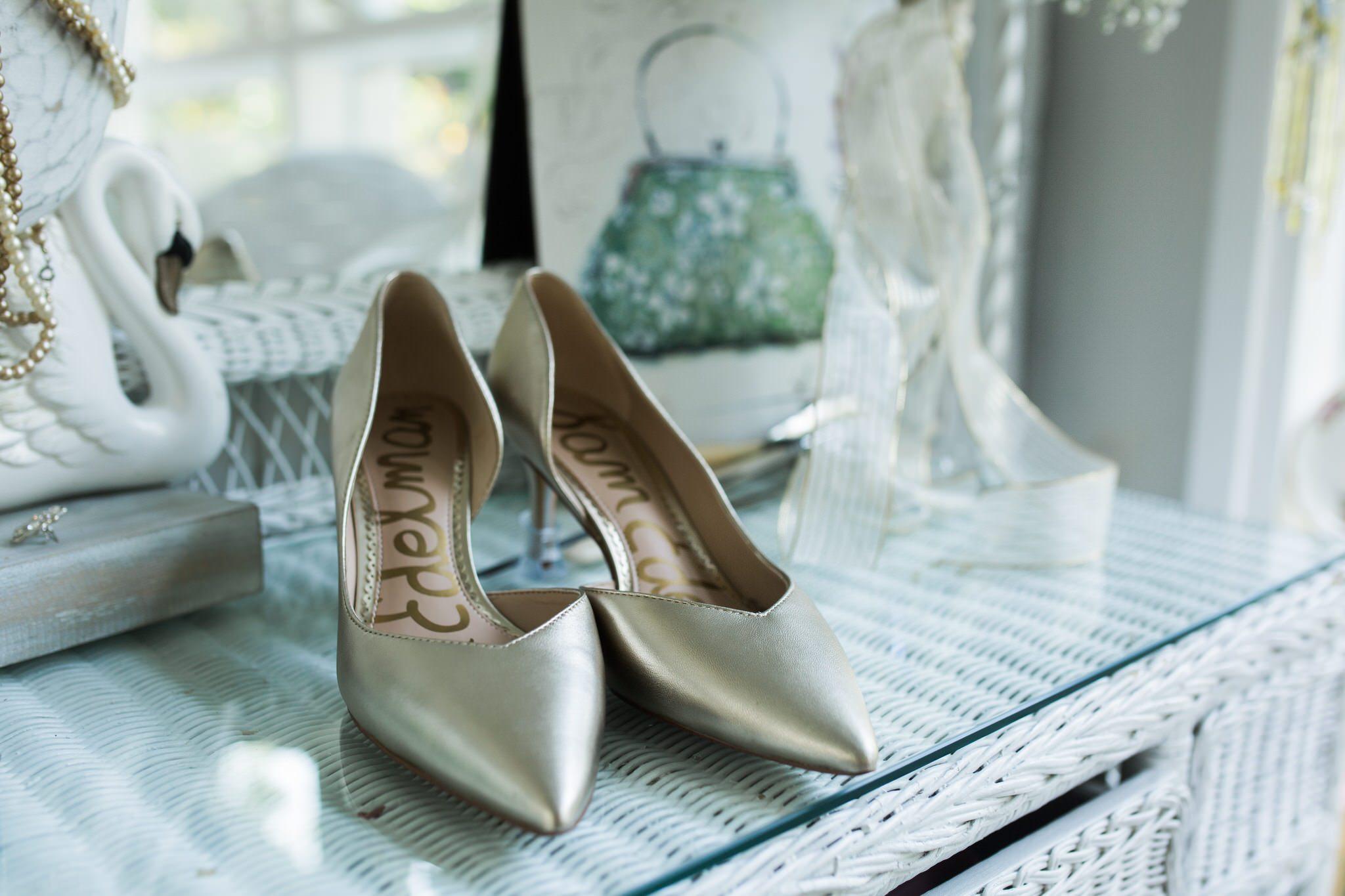 Northview Gardens Wedding - wedding shoes