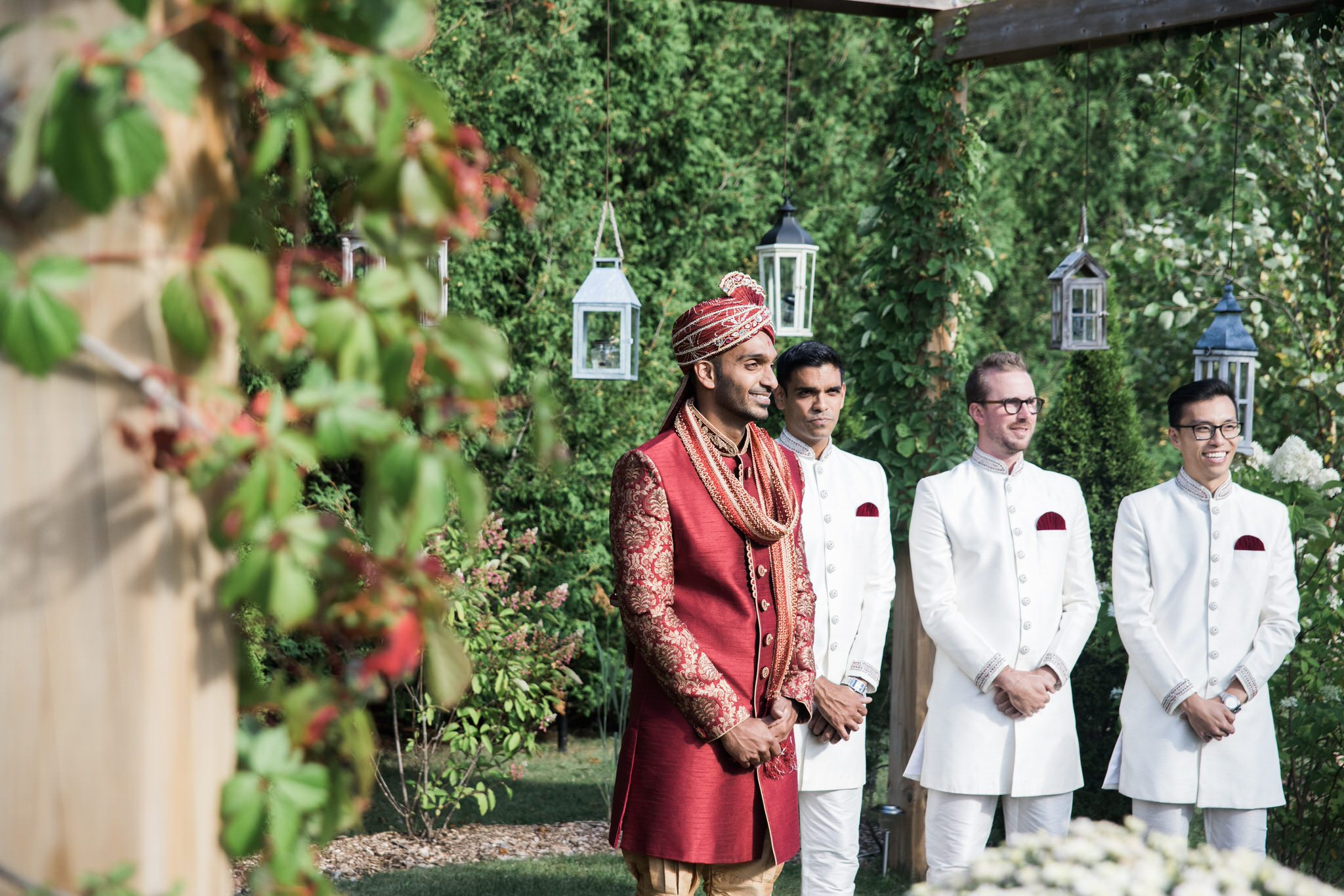 Northview Gardens Wedding - first look