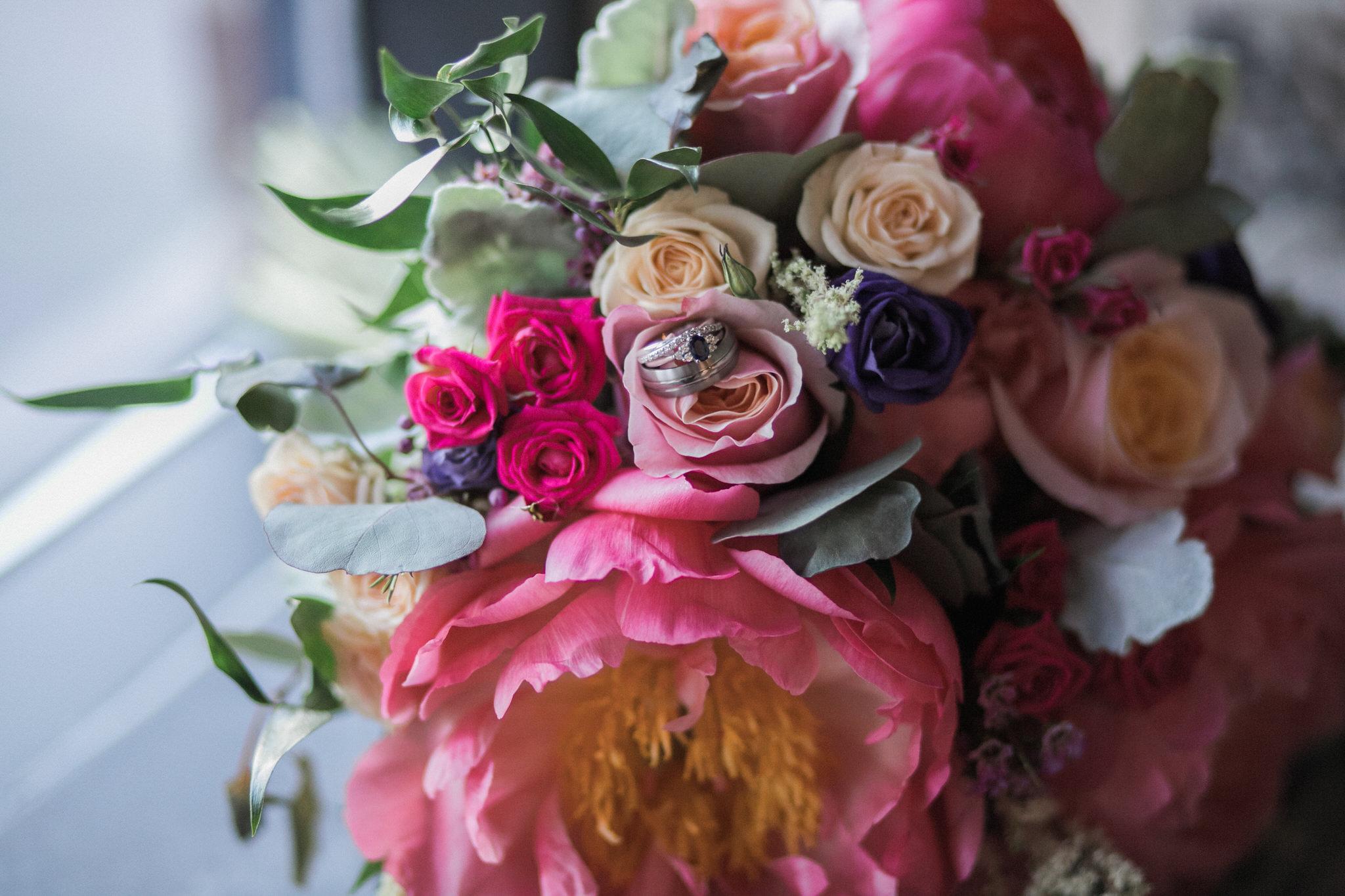 Brock Street Brewery Wedding - bouquet