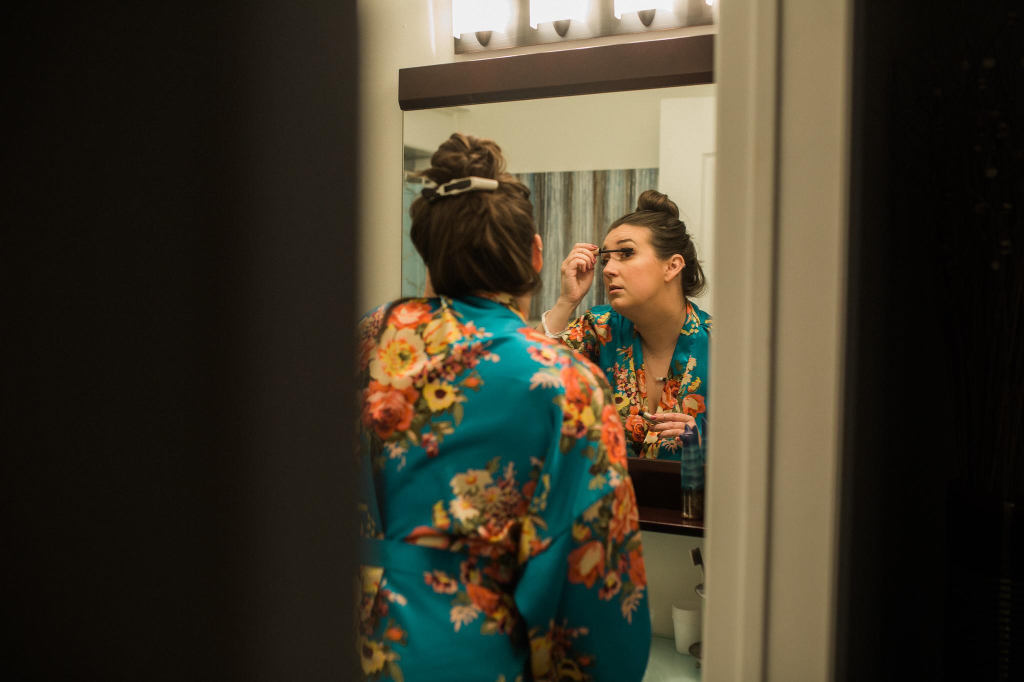 Whitby Wedding Photographer Carol Poitras - - Bridesmaid makeup
