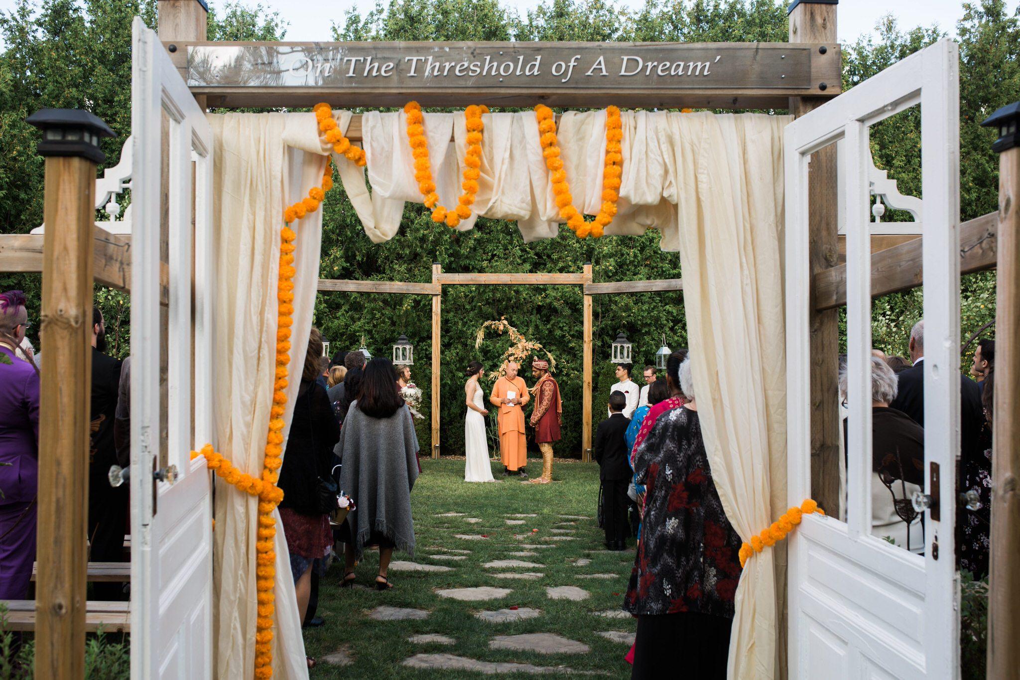 Northview Gardens Wedding - mixed hindu wedding