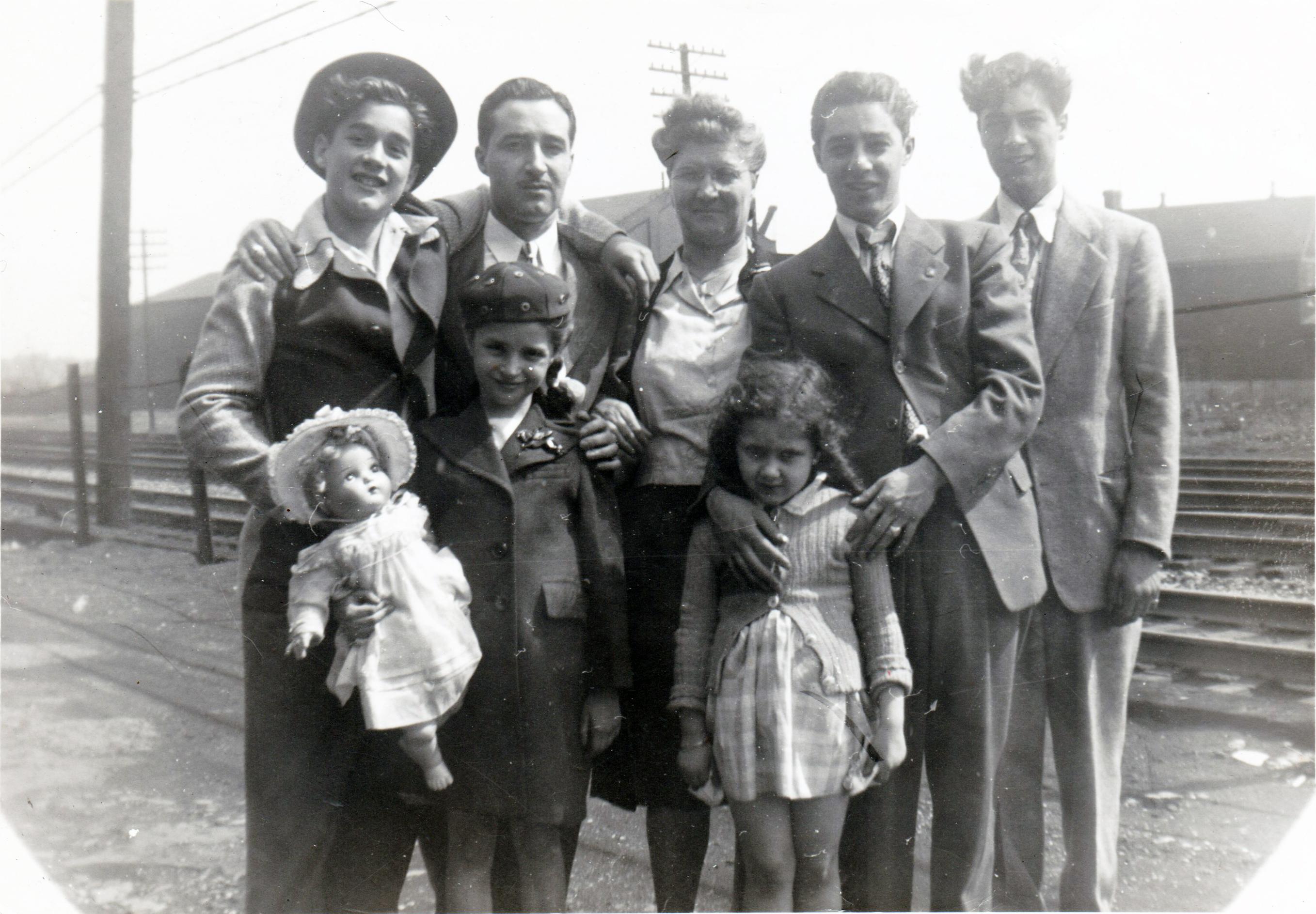 1940s Family Photo