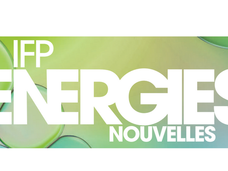 News from our Members – IFP Energies Nouvelles
