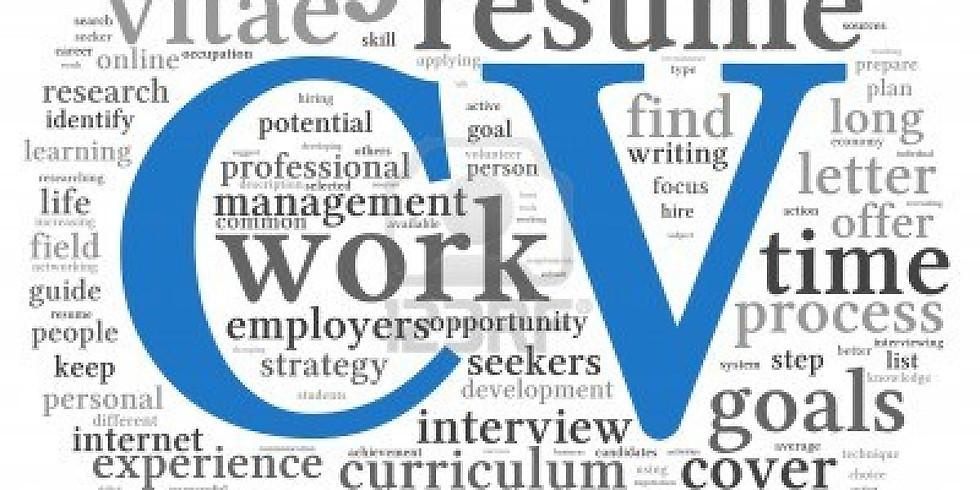 CV and Cover Letter Clinic