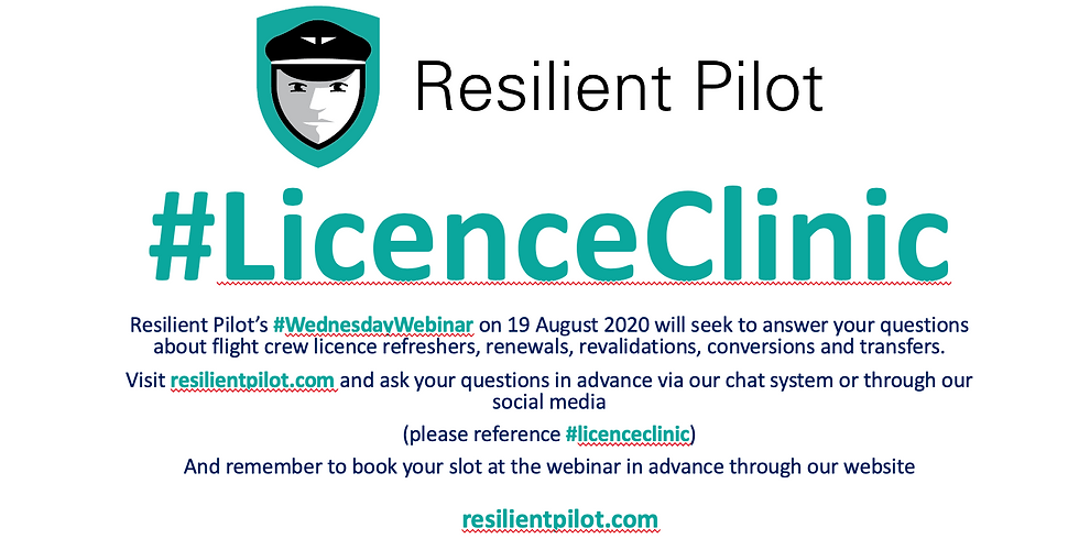 Resilient Pilot: Licence Clinic