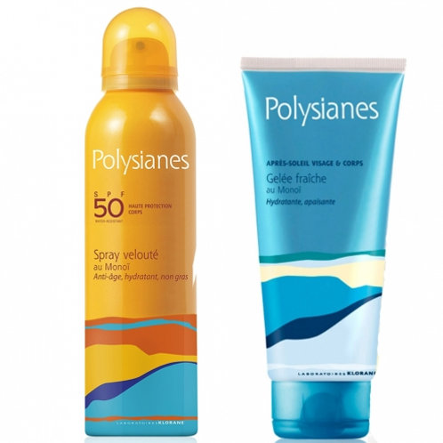 Polysianes Latte Spray Vellutato SPF50 150ml + Gel Doposole 200ml
