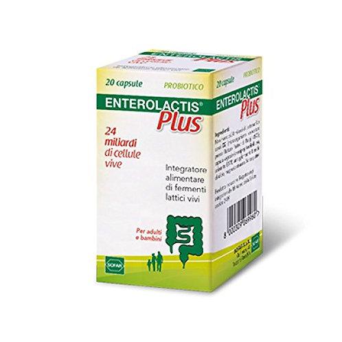 Enterolactis Plus 24 Miliardi 20 Capsule