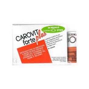Carovit Forte Plus Integratore Per Esposizione Sole + Stick Dermasol