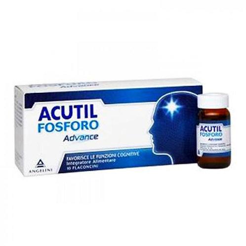 Acutil Fosforo Advance Integratore Alimentare 10 Flaconcini da 10 ml