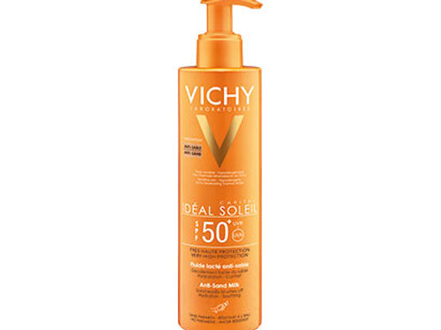 VICHY IDEAL SOLEIL Latte Fluido Anti-Sabbia SPF 50+ - 200 ml