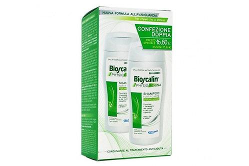 Bioscalin Physiogenina Shampoo volumizzante 2x200ml Promo