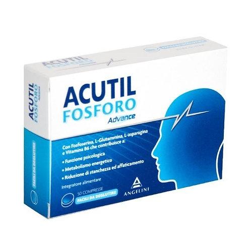 Acutil Fosforo Linea Advance Integratore Alimentare 50 Compresse