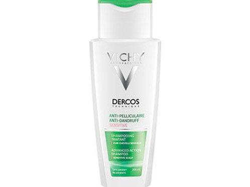 DERCOS ANTI-FORFORA Shampoo sensitive, cuoio capelluto sensibile 200ml