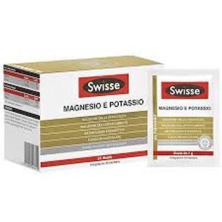 Swisse Magnesio e Potassio Integratore Sali minerali 24 Bustine