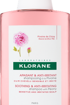 Klorane SHAMPOO ALLA PEONIA 400 ml