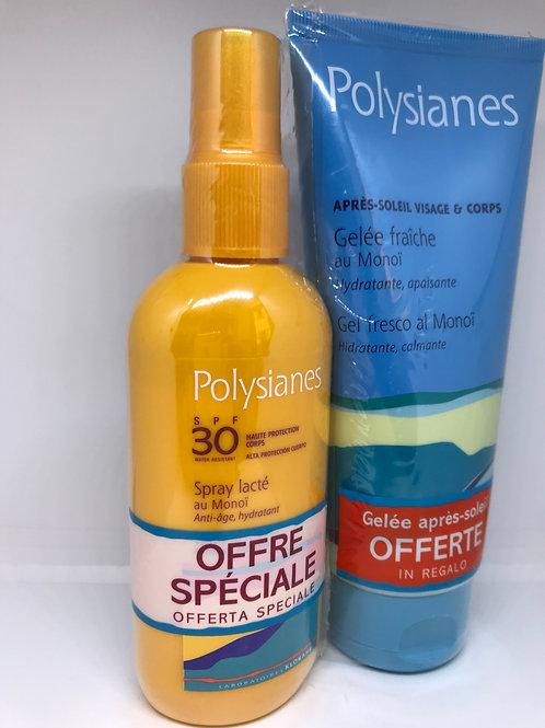 Polysianes Latte Spray SPF30 125ml + Gel Doposole 200ml
