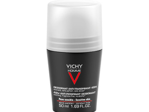 VICHY HOMME DEODORANTE Roll On 48h Pelle Sensibile