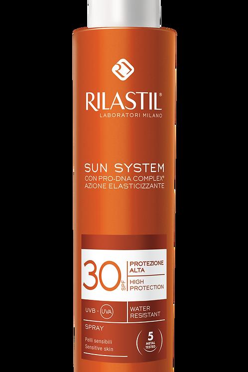 RILASTIL SUN SYSTEM SPRAY SOLARE CORPO SPF 30 PROTEZIONE ALTA 200 ML