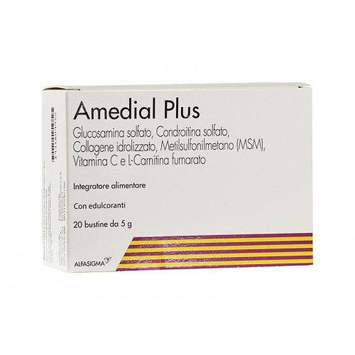 Amedial Plus Integratore Alimentare Glucosamina Condroitin Solfato 20 Buste