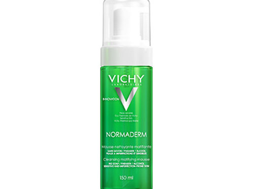VICHY NORMADERM Mousse detergente effetto mat 150 ml