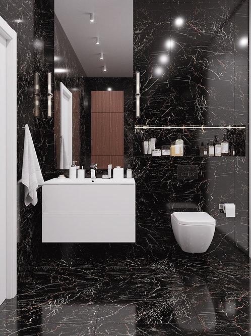 STARO коллекция Palacio MOLTEN BLACK 60х120