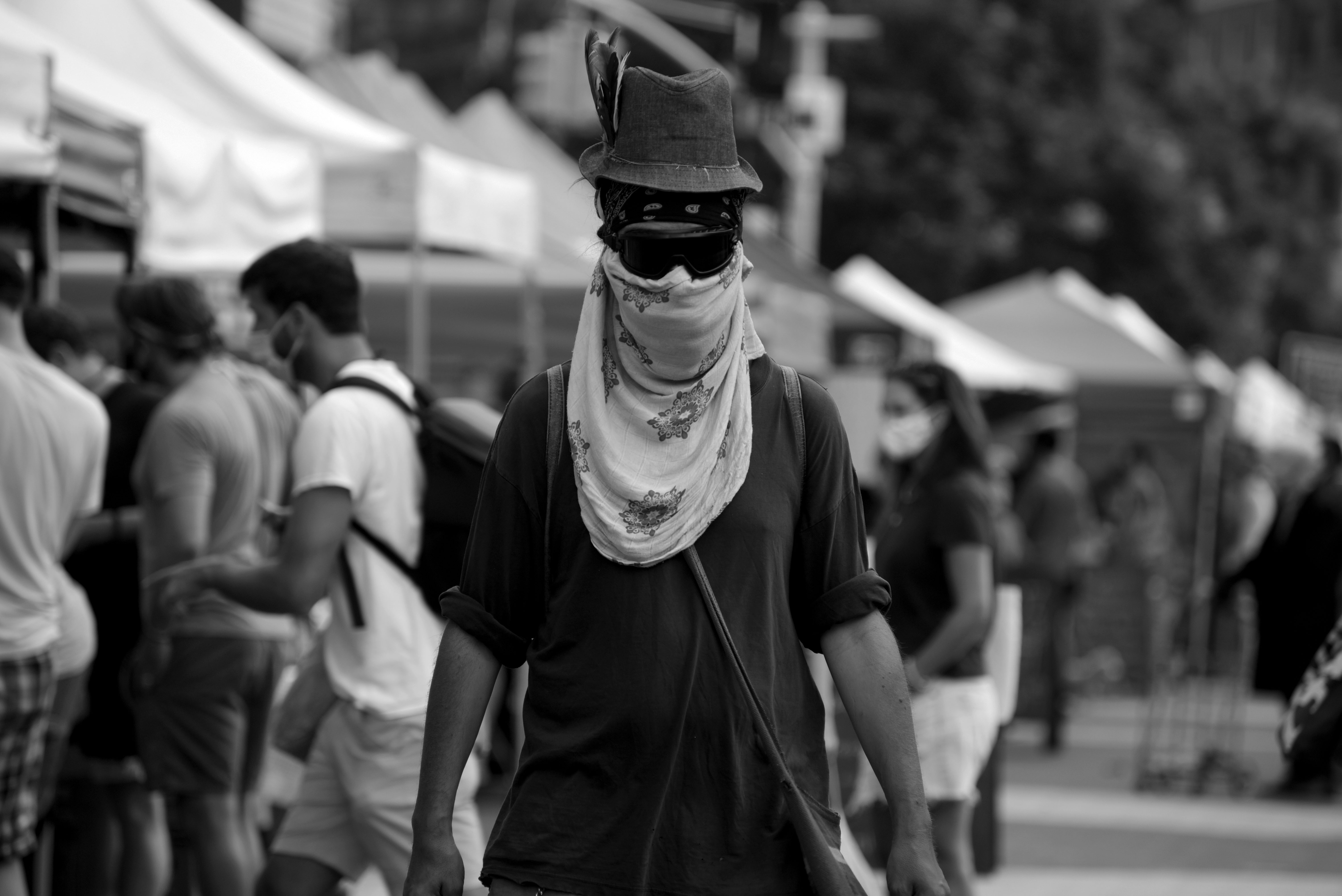 August USP guy face covered F