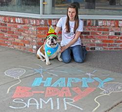 samir 1st birthday !