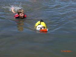 eaty learning to swim summer 2011
