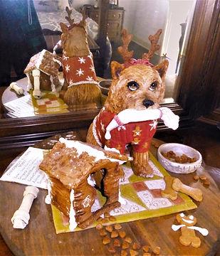 Taffy's Gingerbread Dog House