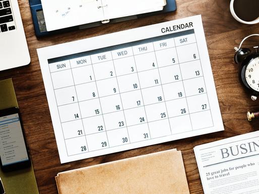 Scadenze fiscali del mese di settembre 2019