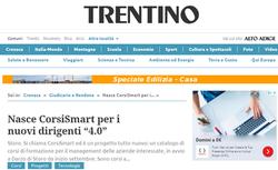 """Nasce CorsiSmart per i nuovi dirigenti """"4.0"""""""