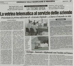 Trentino, 3 novembre 2006