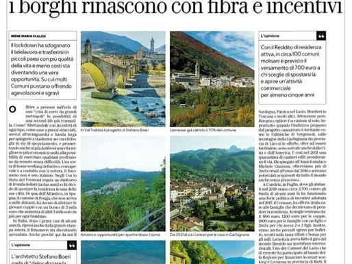La Repubblica: lo smart worker lascia le metropoli