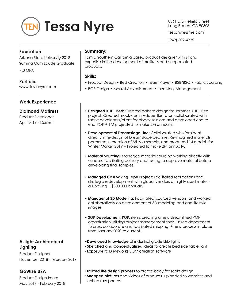Resume _Tessa Nyre_2020 Final - Copy.jpg