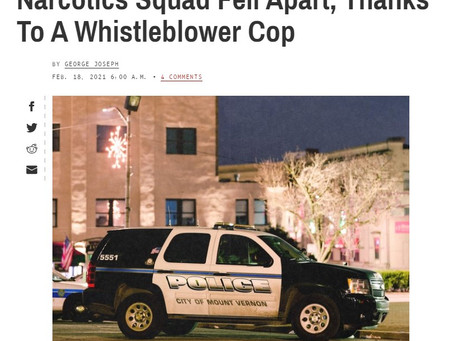 In Reply: Abuse of Force: How Mt. Vernon's Narcotics Squad Fell Apart, Thanks To Whistleblower Cop