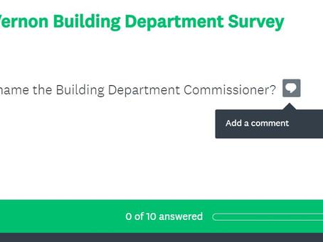 POLL: Buildings Department Performance Survey