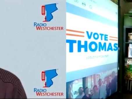 Radio Westchester Interviews Richard Thomas, Former Mayor, Councilman, & Comptroller candidate
