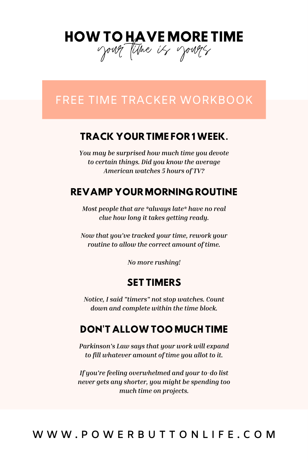 Time management hacks for creatives with scattered brains.